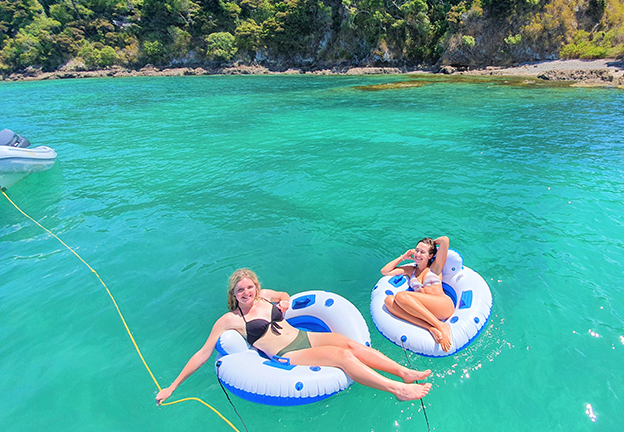 sailing Bay of Islands Day Cruise with snorkelling, swimming, hiking and gourmet lunch